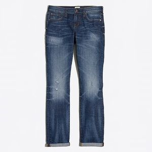 J. Crew Factory Medium Wash Boyfriend Jeans
